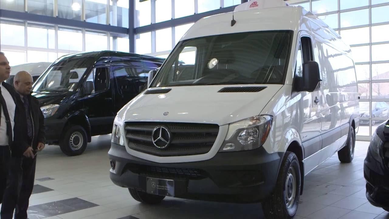 Refrigeration Units for Mercedes-Benz Metris & Sprinter Vans