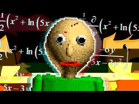 DO YOUR HOMEWORK OR HE WILL FIND YOU   Baldi's Basics in Education and Learning (Lets Play/Gameplay)