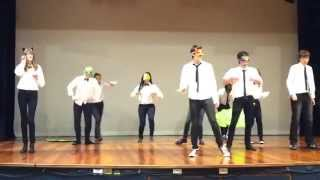 The Fox - Ylvis Dance (Carrington College Skit Night 2013)