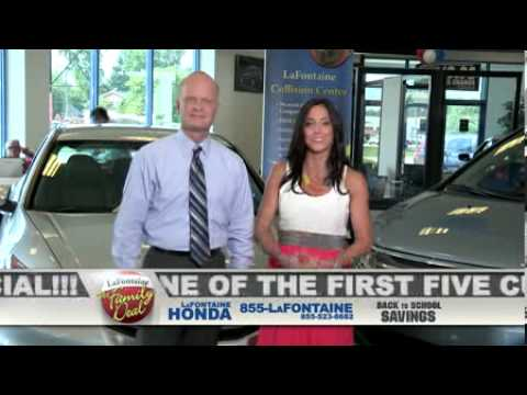 LaFontaine Honda - Back To Specials - Dearborn, MI - YouTube
