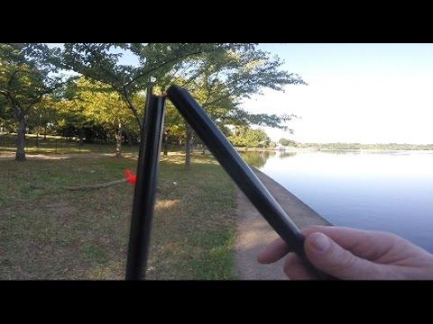 I Break A $300 Rod - Pole Fishing For Carp And Catfish -