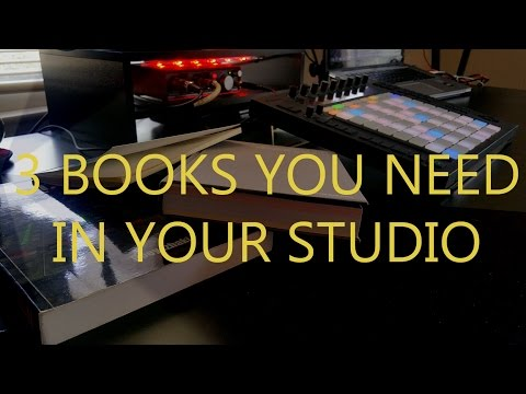 3 Books You Need In Your Studio