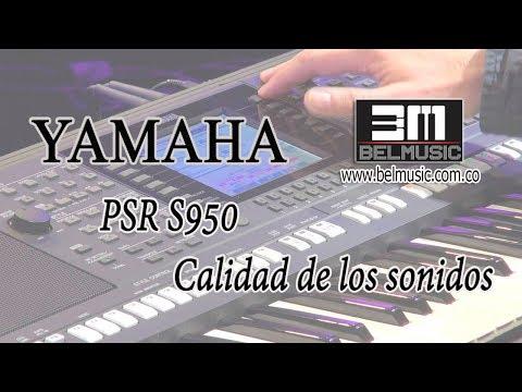 Yamaha PSR S950 (Calidad de las voces)