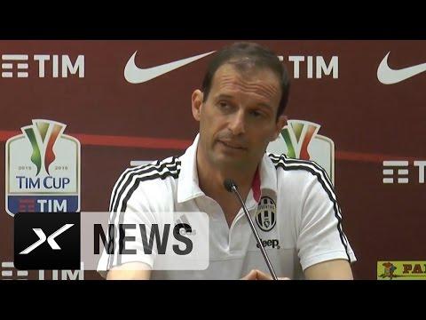 Coppa Italia: Massimiliano Allegri peilt Historisches an | AC Milan - Juventus Turin
