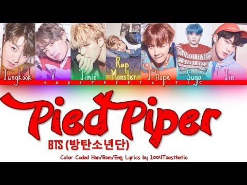 BTS (방탄소년단) - Pied Piper Color Coded Han/Rom/Eng Lyrics