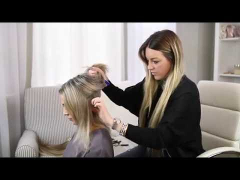 HAIR EXTENSION HOW TO ( KLIX BRAND)