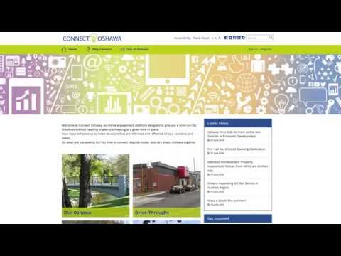 Connect Oshawa - Our community engagement website