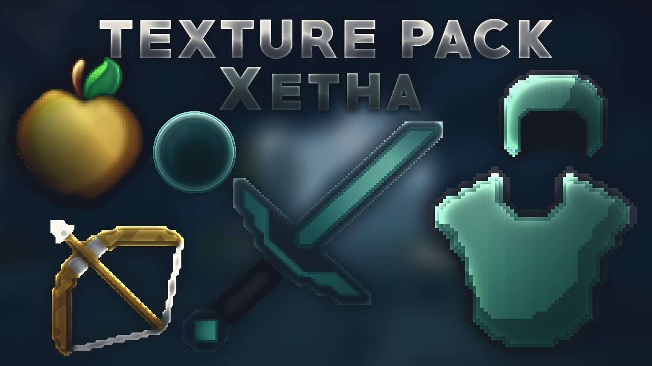 Minecraft Texture Pack PvP xetha 1.8 1.9 1.10 |
