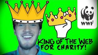 KING OF THE WEB FOR CHARITY - (Fridays With PewDiePie - Part 15)