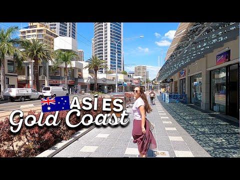 BiIENVENIDOS A GOLDCOAST | Famosa por sus playas y el turismo | Australia
