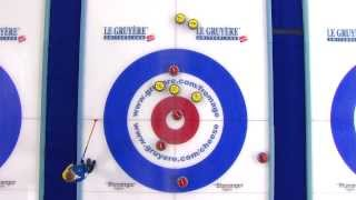 CURLING: SCO-SWE Euro Chps 2013 Women Final HIGHLIGHTS