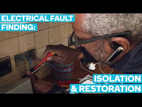 Electrical Fault Finding - Father & Son Electrician Team In London Vlog #1