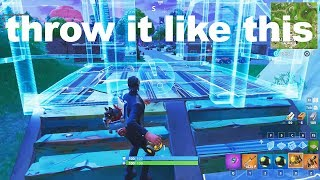I might get banned for this INVISIBLE trap glitch in Fortnite..