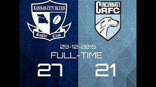 Kansas City Blues @ Cincinnati Wolfhounds Fall 2015 Highlights 2017 Video