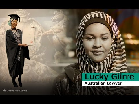 Lucky Giirre - First Somali Australian female Lawyer.
