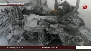 В массовой аварии на трассе Астана - Кокшетау чудом выжил трехлетний малыш