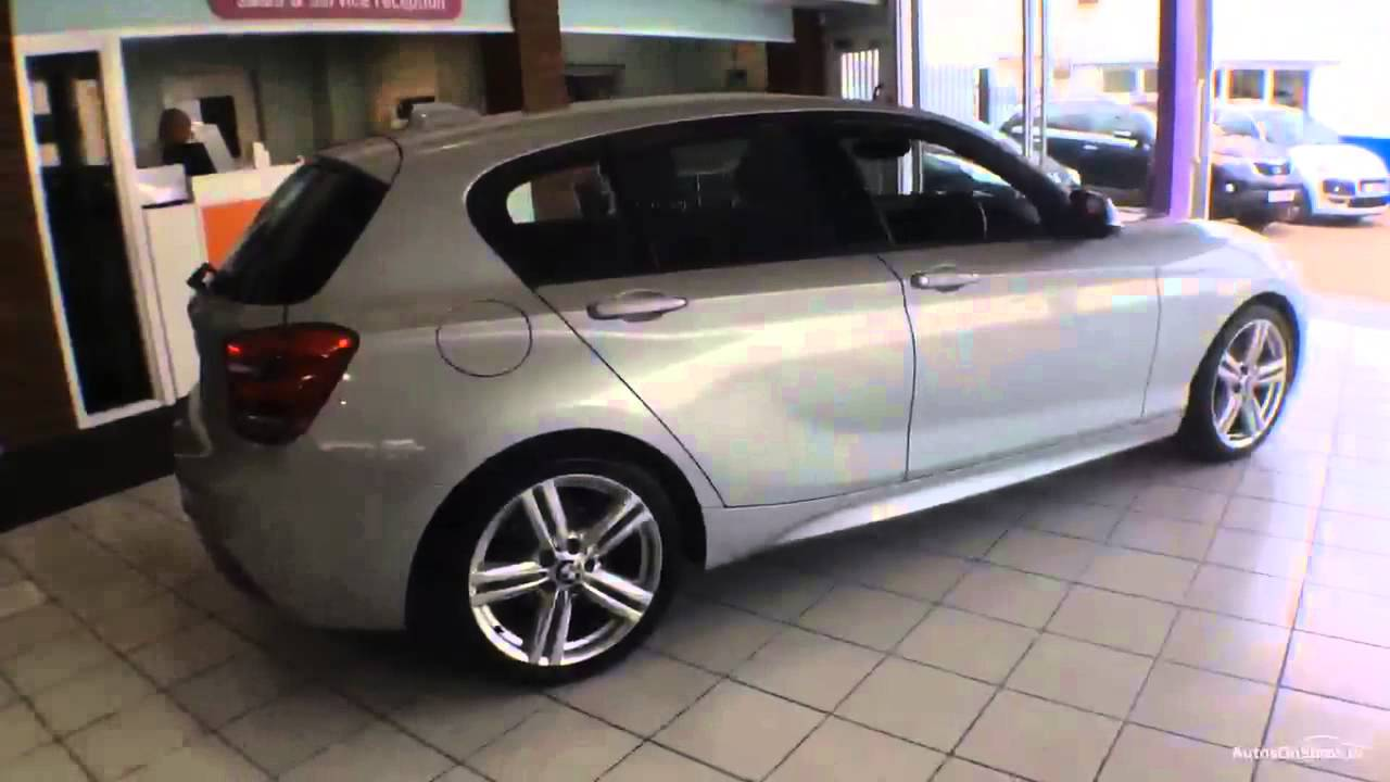 bmw 1 series 116i m sport aluminium silver 2013 youtube. Black Bedroom Furniture Sets. Home Design Ideas