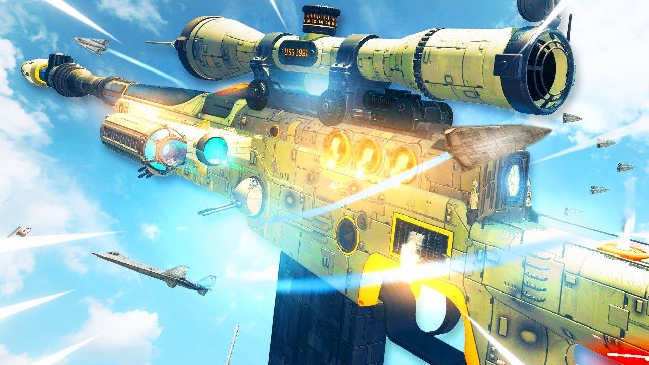 the *NEW* STAR WARS Gun in Warzone..