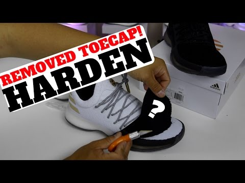 DID I RUIN THESE? TOECAP REMOVED ON HARDEN VOL.1! (+ GIVEAWAY)