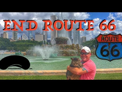 End of Route 66 In Chicago...