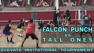 Falcon Punch vs Tall Ones (Pool Play, Match 1) - Elevate Invitational Volleyball Tournament 2018