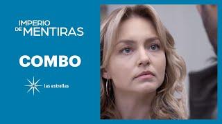Imperio de mentiras: Elisa cree que Leo es cómplice de su hermano José Luis | C- 75 | Las Estrellas