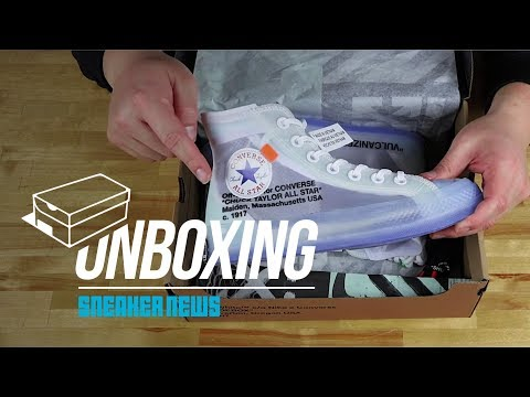 Unboxing the OFF WHITE x Converse Chuck Taylor