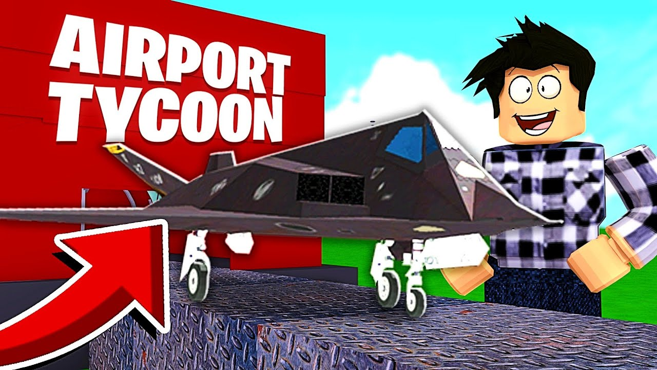 J Ouvre Mon Nouvel Aeroport Roblox Airport Tycoon Youtube