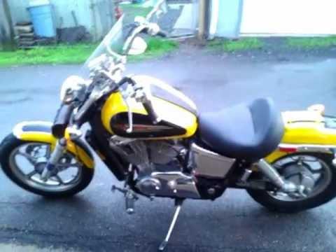 1997 Honda Shadow Spirit 1100 Walk Around Youtube
