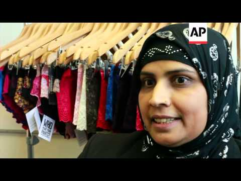 Lingerie factory gives refugee women emploment and hope for the future