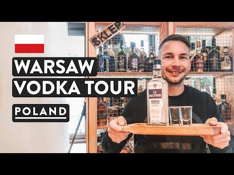 POLISH VODKA CHALLENGE   Vodka Tour Warsaw EatPolska   Poland Travel Vlog