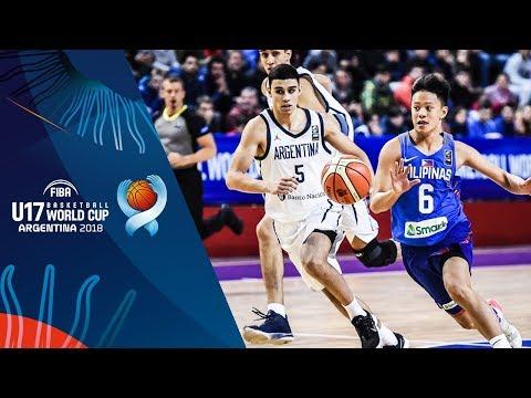 HIGHLIGHTS: Batang Gilas vs. Argentina (VIDEO) 2018 FIBA U17 Basketball World Cup