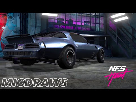 NFS Heat Studio   Pontiac Firebird Drag Build