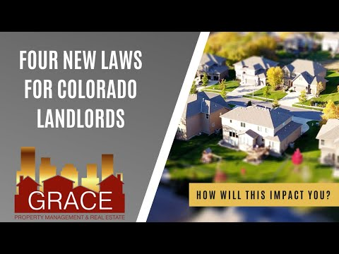 4 New Laws For Colorado Landlords