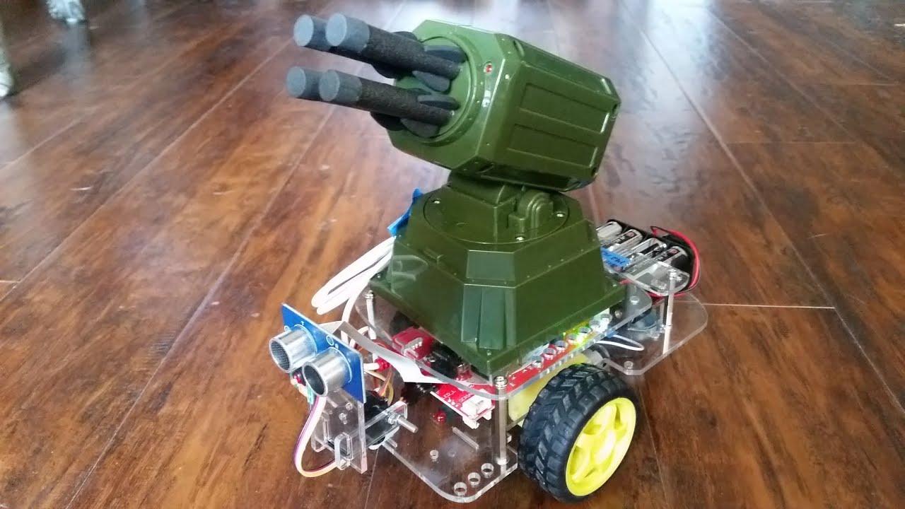 Programming Robot Basics - Robotics with Python Raspberry Pi and GoPiGo p 3
