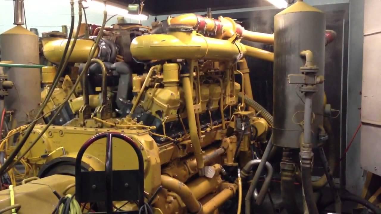 Caterpillar 3512 B Engine Dyno