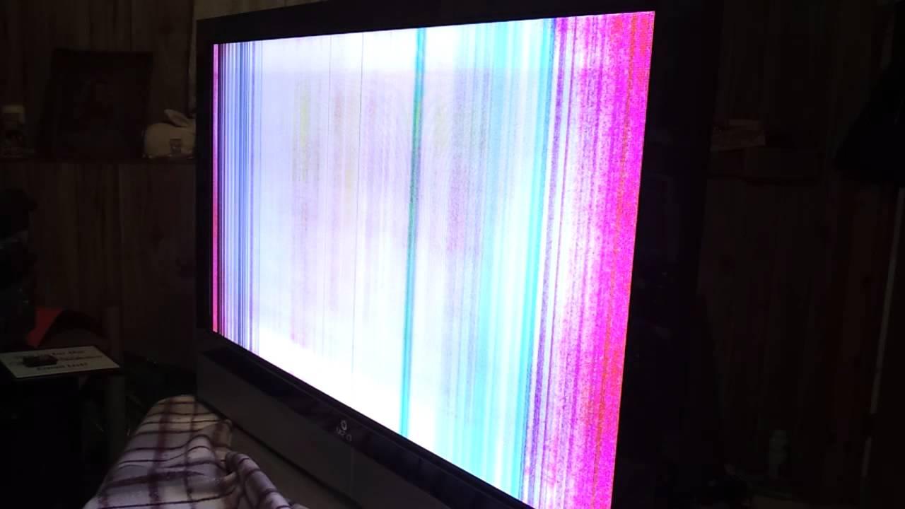 Vizio pd50 vertical lines - YouTube