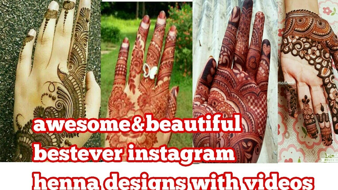 Instagram Very Talented Brilliant Henna Artist S Henna Designs