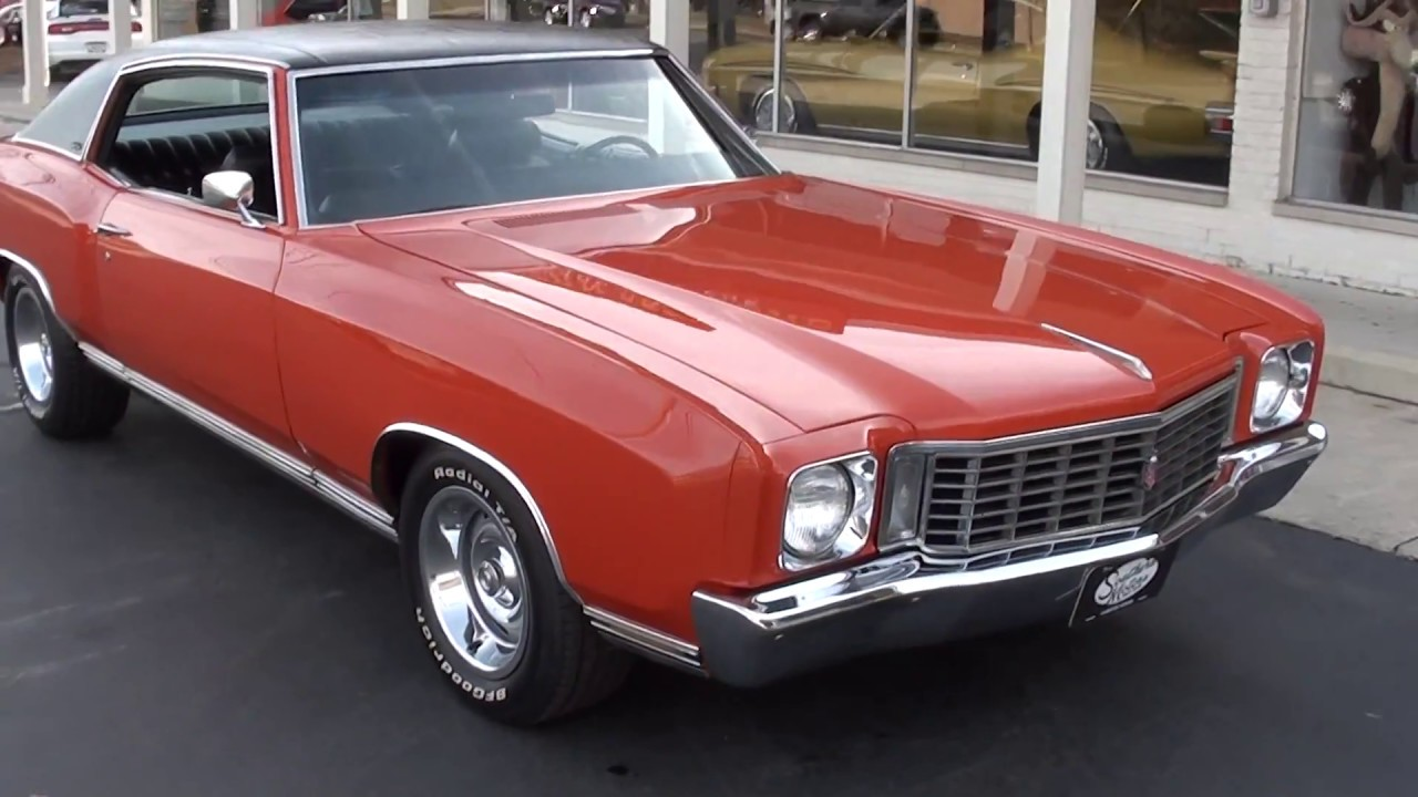 1972 Chevrolet Monte Carlo $23,900.00 - YouTube