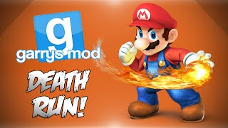 GMod Deathrun! - Super Mario Bro's, Bowsers Castle, Trolling & More! (Funny Moments)