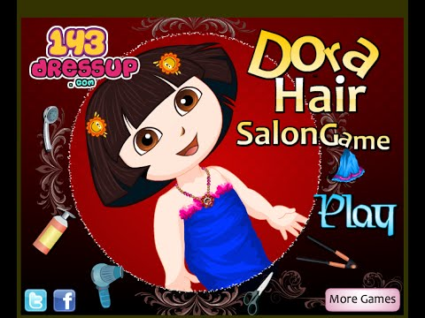 Little Girls Hair Games With Dora The Explorer - 동영상
