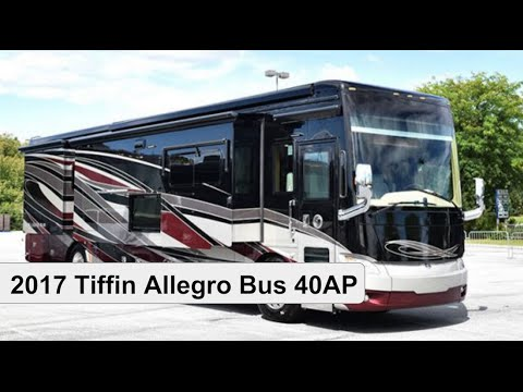 2017 tiffin allegro bus 40ap class a motorhome youtube