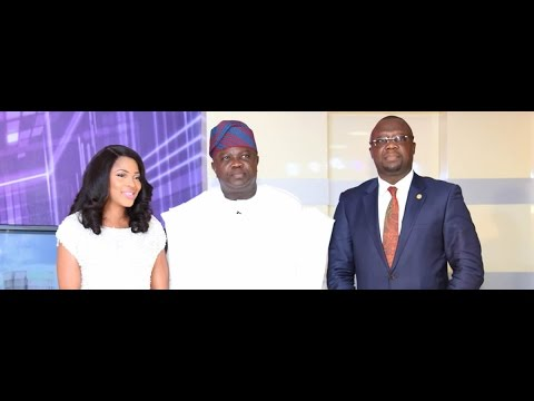 Lagos State Governor, Mr. Akinwunmi Ambode, and Prof. Ademol