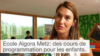 Ouverture d'une école de programmation Algora à Metz