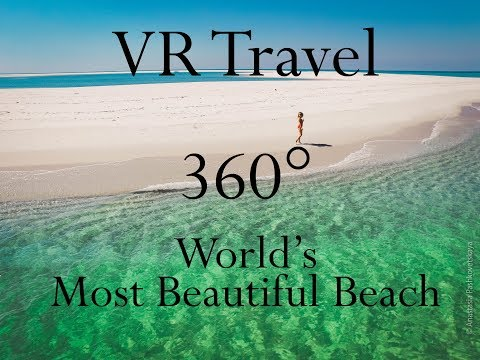 VR Travel - Visit the most beautiful beach in Mozambique