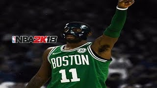 MASKED KYRIE IRVING CRAZY ANKLE BREAKERS & JELLY LAY UPS AT THE PARK NBA 2K18