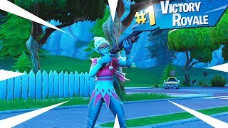 NEW SUGARPLUM Skin Gameplay In Fortnite Battle Royale...