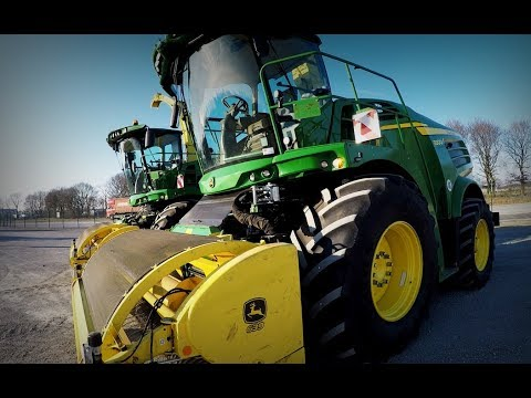 John Deere 8400I & 8300I harvesters featured in Meppen (DEU) auction
