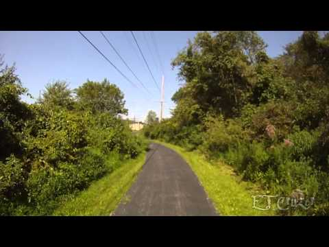 Stavich Bicycle Trail, New Castle,Pa., Lowellville, Struthers, Ohio