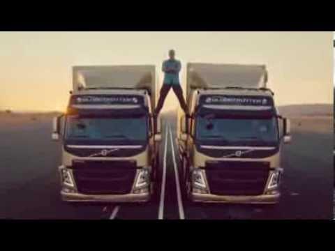 Пародии на рекламу Volvo с Ван Дамом